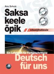 003045 - Saksa keele õpik edasijõudnule. <br>Deutsch für uns. Ein Lehrbuch für Fortgeschrittene (DFU) + CD, CD-ROM