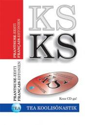 001077 - TEA KOOLISÕNASTIK. Prantsuse-eesti + CD-ROM
