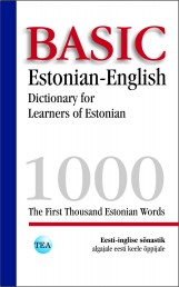 007888 - Basic Estonian-English Dictionary for Learners of Estonian
