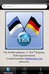 app006 - Saksa-eesti-saksa sõnastik (App Store'is)