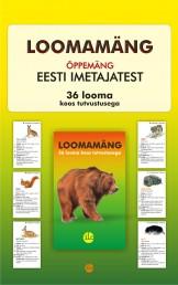 2646 - Loomamäng. Õppemäng Eesti imetajatest.<br>36 looma koos tutvustusega