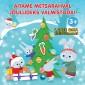 009223 - Aitame metsarahval jõuludeks valmistuda!<br>Lapse oma kleepsuraamat koos jõulujuttudega