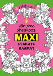 009224 - MAXI plakatiraamat. Printsessid