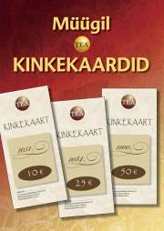 KINK50€ - Kinkekaart 50€