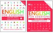 007401K - ENGLISH FOR EVERYONE<br>Põhjalik kursus iseõppijale<br>Õpik algajale 1 Tööraamat algajale 1