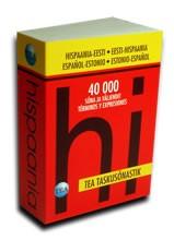 001231 - TEA taskusõnastik. Hispaania-eesti / eesti-hispaania