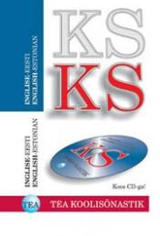 001079 - TEA KOOLISÕNASTIK. Inglise-eesti + CD-ROM